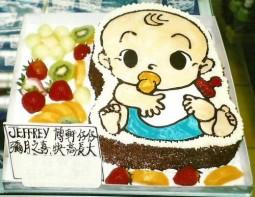 K-5 小孩生日蛋糕