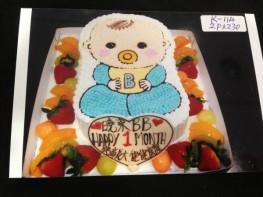 K-114 百日小寶寶蛋糕